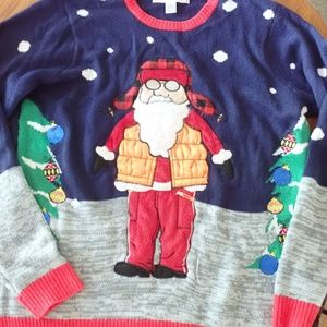 Jolly Sweaters Hunting Santa Claus Christmas